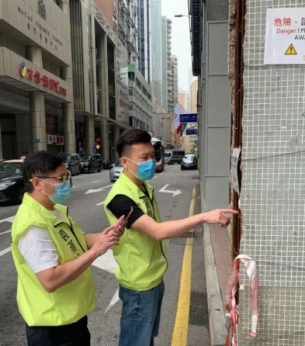 民建聯籲共同維護大廈居住安全