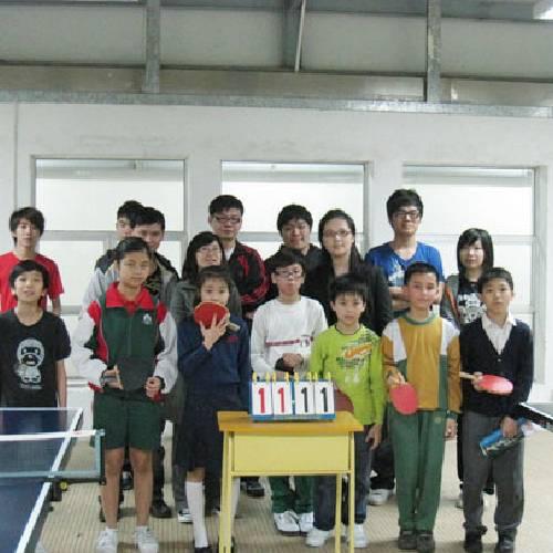 民眾建澳聯盟辦乒乓賽