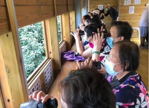民建聯組居民觀鳥生態游增環保意識