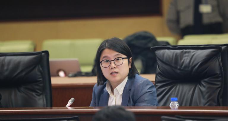 宋碧琪:政府要完善訊息發放為民釋疑