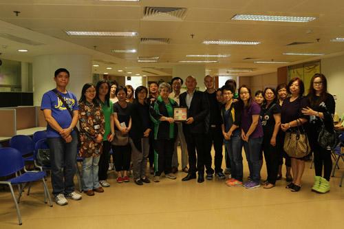 11月2日與FB網友探訪扶康會怡樂軒精神康復者